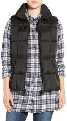 Women's Marc New York By Andrew Marc Metallic Down Vest $168 thestylecure.com