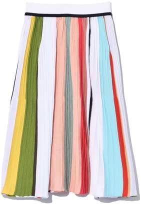 Missoni Short A-Line Skirt in Multi Stripe