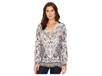 Hale Bob Simply Irresistible Long Sleeve Top Women's Clothing