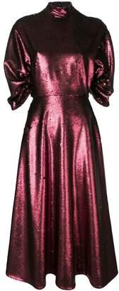 Emilia Wickstead Mariel open-back dress