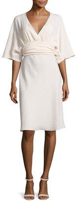 ba&sh Miranda Belted Kimono Dress, Nude $240 thestylecure.com