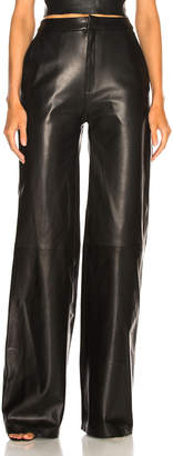 Report Sablyn Josephine Wide Leg Leather Pants