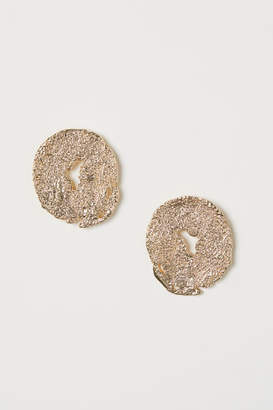 H&M Round Earrings - Gold