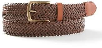 Banana Republic Braided Stretch Leather Belt