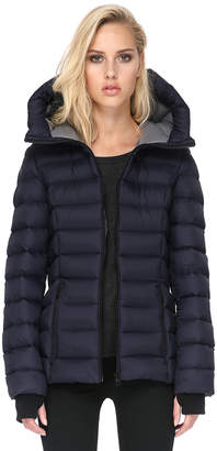 Soia & Kyo CHARLISE lightweight down jacket with oversized hood