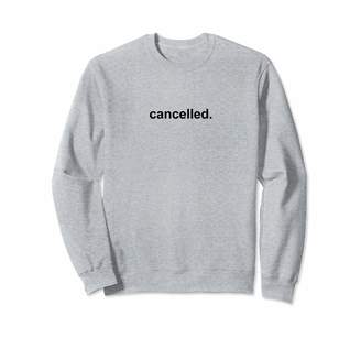 West Indian Apparel British Spelling Cancelled Funny Internet Social Media Teen Sweatshirt