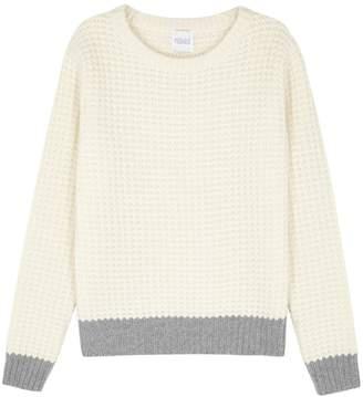 Madeleine Thompson Angelica Waffle-knit Cashmere Jumper