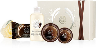 The Body Shop Coconut Shower, Scrub & Soften Collection