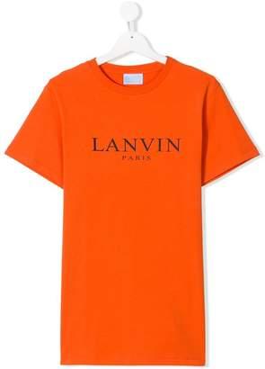 Lanvin Enfant TEEN logo printed T-shirt