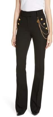 Veronica Beard Alair Chain Detail Sailor Trousers