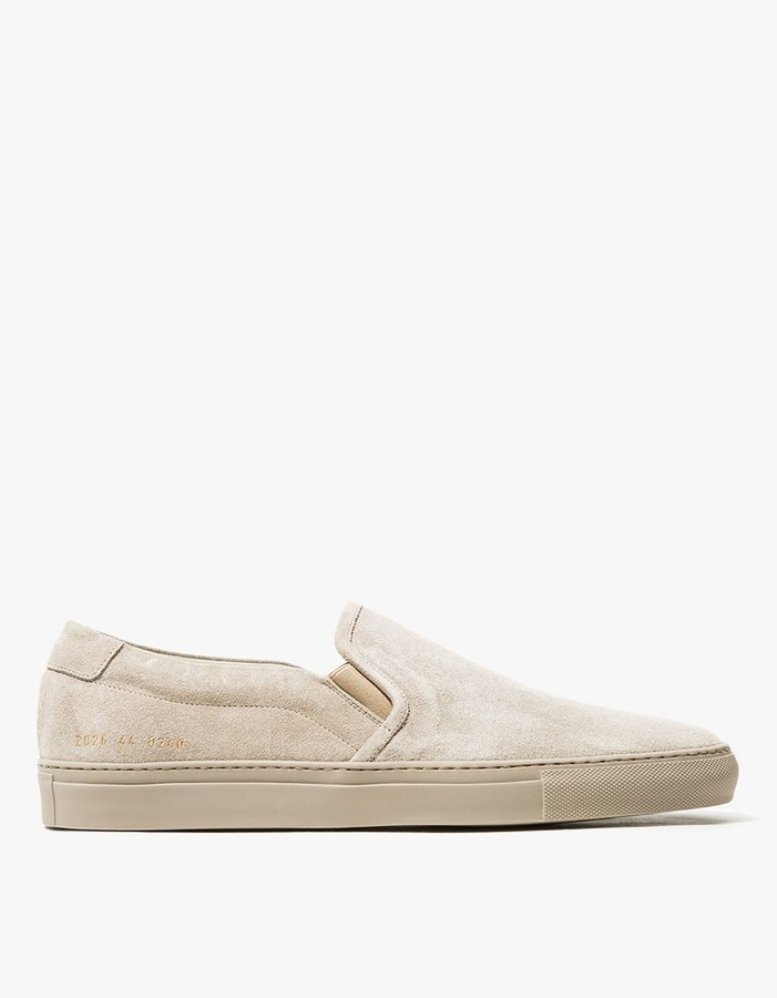 Common ProjectsSlip on Suede in Sand