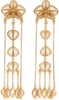 Mallarino Orquídea Gold Vermeil Earrings