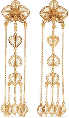 Mallarino Orquídea Gold Vermeil Earrings