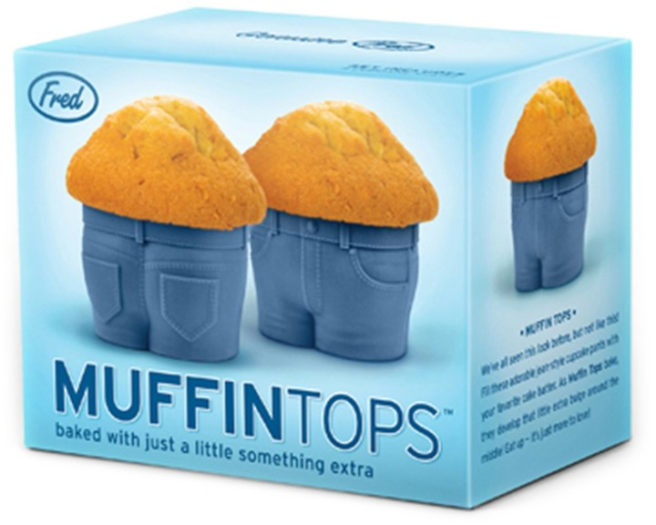 Fred & Friends Muffin Tops Baking Cups - Set of 2