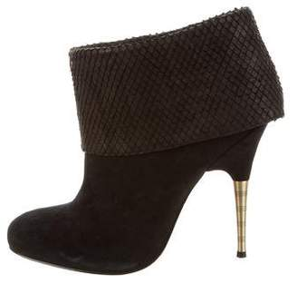 Elizabeth and James Suede Ankle Boots w/ Tags