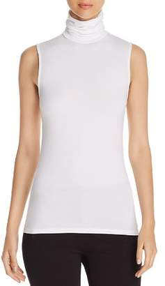 Majestic Filatures Sleeveless Turtleneck Tee