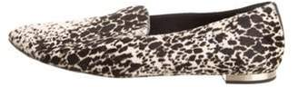 Burberry Ponyhair Animal Print Loafers brown Ponyhair Animal Print Loafers