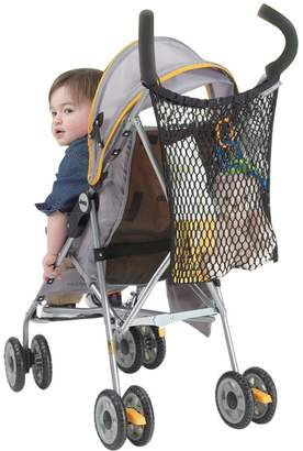 Jeep J is for Stroller Bag, Stroller Organizer, Stroller Mesh Bag, Baby Bag Organizer, Mesh Netting, Stroller Accessories, Attaches to Most Strollers, Universal Size, Black