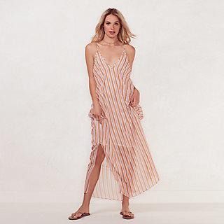 Women's LC Lauren Conrad Beach Shop Maxi Dress $40 thestylecure.com