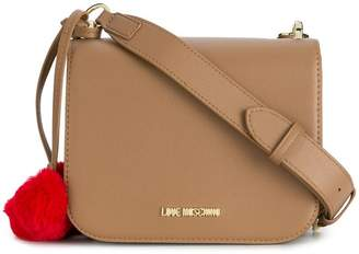 Love Moschino hearts embellished crossbody bag
