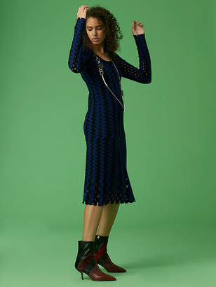 Diane von Furstenberg Knit Flare Skirt