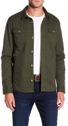 Original Penguin Stretch Four-Pocket Shirt Jacket