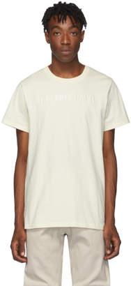 Helmut Lang Off-White Logo T-Shirt