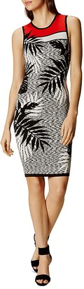 KAREN MILLEN Patterned Knit Dress $199 thestylecure.com