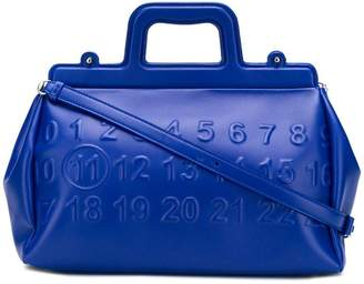Maison Margiela numbers doctor tote bag