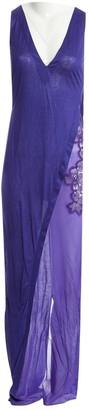 La Perla Purple Silk Dress for Women