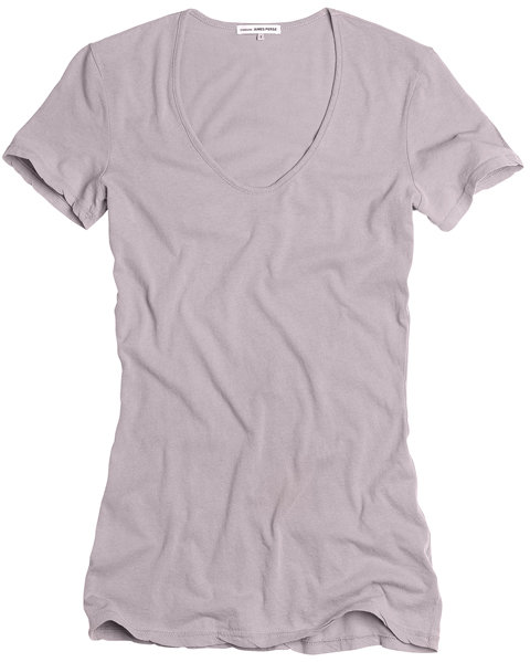 Fitted Scoop Neck Tee