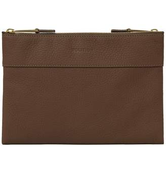 Volition Tony - Leather Men's Mini Bag Taupe