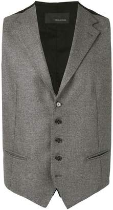 Tagliatore fitted waistcoat