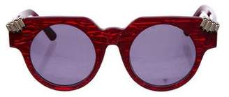 House of Holland Fister V2 Round Sunglasses