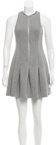 Alexander Wang T by Alexander Wang Pleated Mini Dress w/ Tags