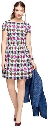 Cotton Gingham Dress $98 thestylecure.com