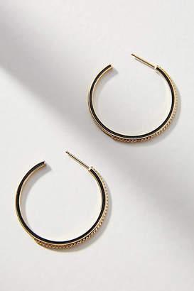 Anthropologie Galina Hoop Earrings