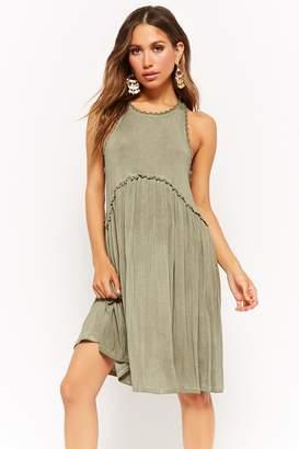 Forever 21 Mineral Wash Sleeveless Dress