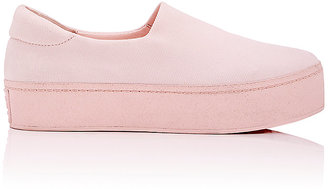 Opening Ceremony Women's Cici Twill Platform Sneakers $195 thestylecure.com