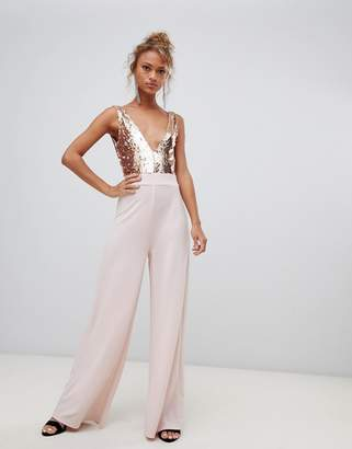 New Look Sequin Jumpsuit