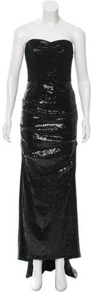 Nicole Miller Sequined Evening Dress $175 thestylecure.com