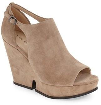 Via Spiga 'Wren' Wedge Sandal (Women) $250 thestylecure.com