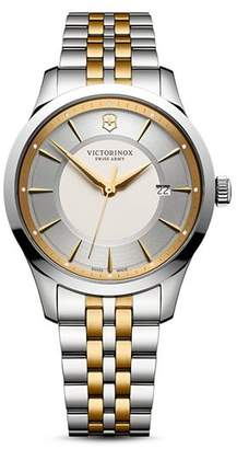 Victorinox Two-Tone Stainless Steel Alliance Watch, 40mm