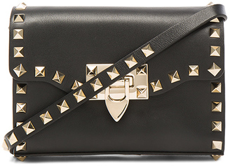 Valentino Small Rockstud Shoulder Bag $995 thestylecure.com