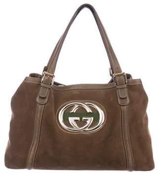 09c0d1457372 Gucci Britt Handbag - ShopStyle