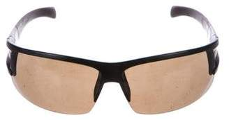 Porsche Design Half-Rim Tinted Sunglasses