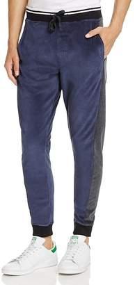 Calvin Klein Jeans Velour Color-Block Jogger Pants