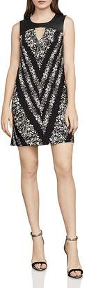 BCBGMAXAZRIA Lane Floral Print Tunic Dress