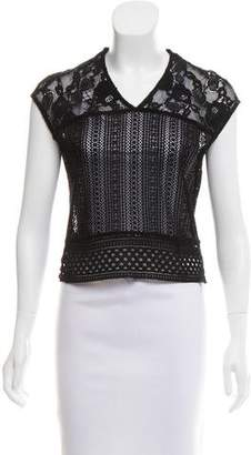 Mayle Sleeveless Lace Top