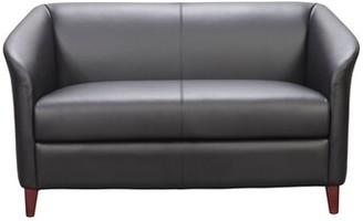 Ebern Designs Attah Leather Loveseat Ebern Designs